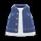 Denim Vest (Navy Blue) NH Icon.png