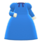 Elegant Dress (Blue) NH Icon.png