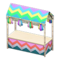 Festivale Stall (Rainbow) NH Icon.png