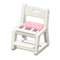 Study Chair (White - Pink) NH Icon.png