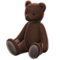 Giant Teddy Bear (Choco - None) NH Icon.png