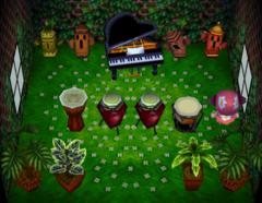 Axel's house interior
