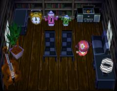 Hank's house interior