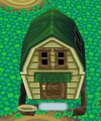 Bubbles's house exterior