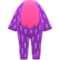 Flashy Animal Costume (Purple) NH Icon.png
