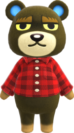 Artwork of Grizzly the Bear