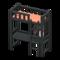 Loft Bed with Desk (Black - Orange) NH Icon.png