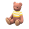Mama Bear (Caramel Mocha - Yellow Stripes) NH Icon.png