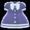 Sailor-Collar Dress (Navy Blue) NH Icon.png