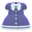 Sailor-Collar Dress (Navy Blue) NH Icon.png