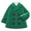 Short Peacoat (Green) NH Icon.png
