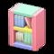 Wooden-Block Bookshelf (Pastel) NH Icon.png