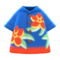 Bold Aloha Shirt (Navy Blue) NH Icon.png