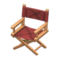 Director's Chair (Light Brown - Chic Pleather) NH Icon.png