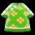 Silk Floral-Print Shirt (Green) NH Icon.png