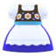 Alpinist Dress (Blue) NH Icon.png