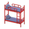 Bunk Bed (Red - Striped) NH Icon.png