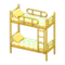 Bunk Bed (Yellow - Colorful Lines) NH Icon.png