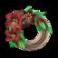 Dark Lily Wreath