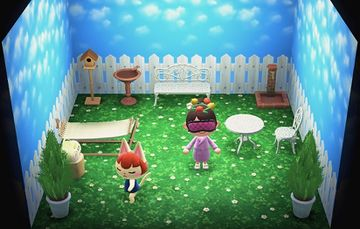 Interior of Felicity's house in Animal Crossing: New Horizons