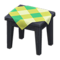 Wooden Mini Table (Black - Green) NH Icon.png