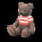 Mama Bear (Choco - Red Stripes) NH Icon.png