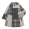 Patchwork Coat (Gray) NH Icon.png