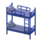 Bunk Bed (Blue - Striped) NH Icon.png