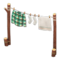 Clothesline (Green Plaid) NH Icon.png