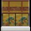 Gold-Screen Wall