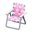 Lawn Chair (Pink)
