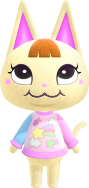 Merry, an Animal Crossing villager.