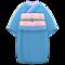 Simple Visiting Kimono (Indigo Blue) NH Icon.png