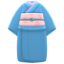 Simple Visiting Kimono (Indigo Blue) NH Icon.png