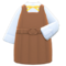 Box-Skirt Uniform (Brown) NH Icon.png