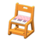 Study Chair (Light Brown - Pink) NH Icon.png