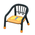 Baby Chair (Black - Butterfly) NH Icon.png