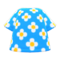 Blossom Tee (Blue) NH Icon.png