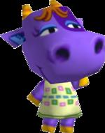Artwork of Petunia the Cow
