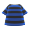 Striped Tee (Navy Blue) NH Icon.png