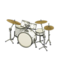 Drum Set (Pearl White - Smooth White) NH Icon.png
