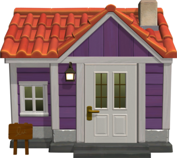 Exterior of Becky's house in Animal Crossing: New Horizons