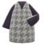 Plover Dress (Gray) NH Icon.png
