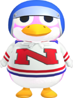 Artwork of Puck the Penguin