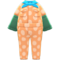 Coveralls with Arm Covers (Orange) NH Icon.png