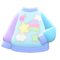 Dreamy Sweater (Blue) NH Icon.png