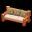 Log Extra-Long Sofa (Orange Wood - Bears)
