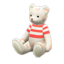 Mama Bear (Floral - Red Stripes)