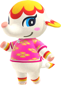 Margie, an Animal Crossing villager.