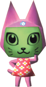 Artwork of Meow the Cat